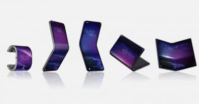 Now TCL's is working on phone that can fold into a watch-like bracelet