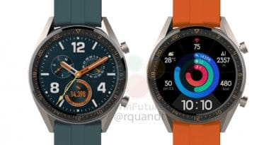 Leaked image shows upcoming Huawei Watch GT Active & Elegant
