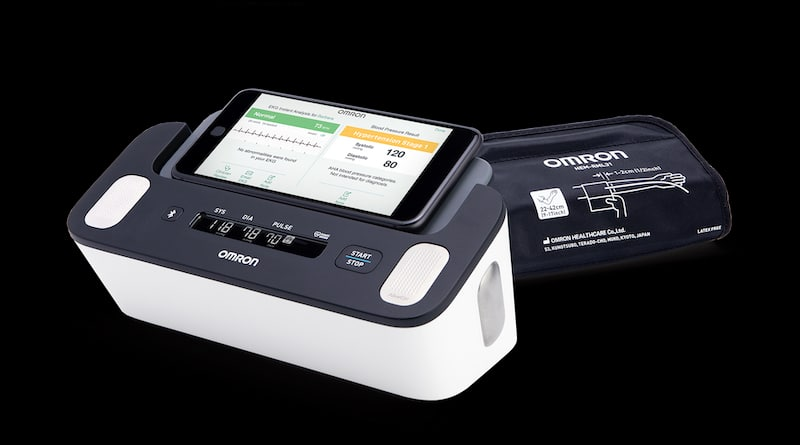 Omron gets FDA clearance for blood pressure monitor with EKG capability