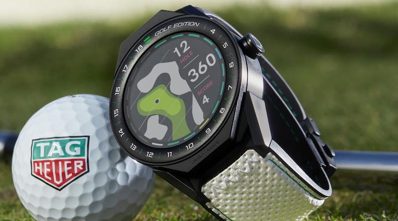 Special edition of Tag Heuer Connected Modular 45 is designed for golfers