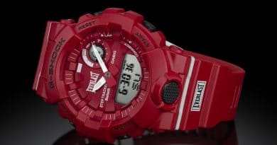 Casio teams up with boxing brand Everlast on new hybrid