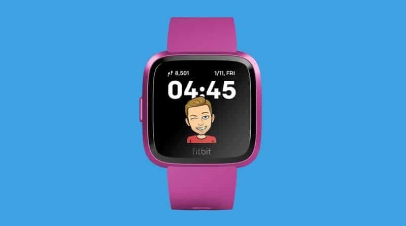 Fitbit links up with Snapchat on first-ever Bitmoji clock face