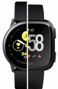 galaxy watch active vs fitbit versa duel of the fitness watches 1 - Galaxy Watch Active vs Fitbit Versa: duel of the fitness watches
