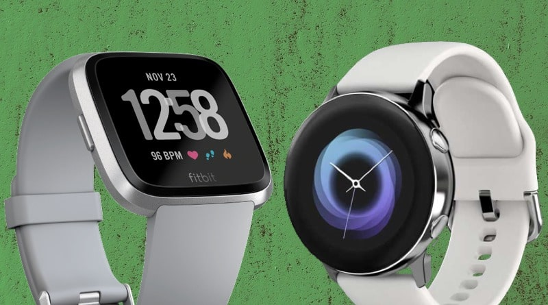 Galaxy Watch Active vs Fitbit Versa: duel of the fitness watches