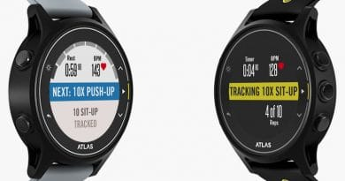 The Atlas is back with 3rd generation exercise watch