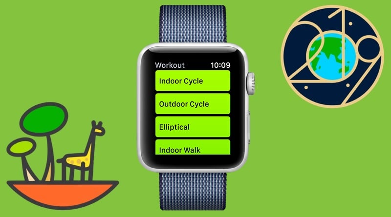 The next Apple Watch activity challenge falls on Earth Day