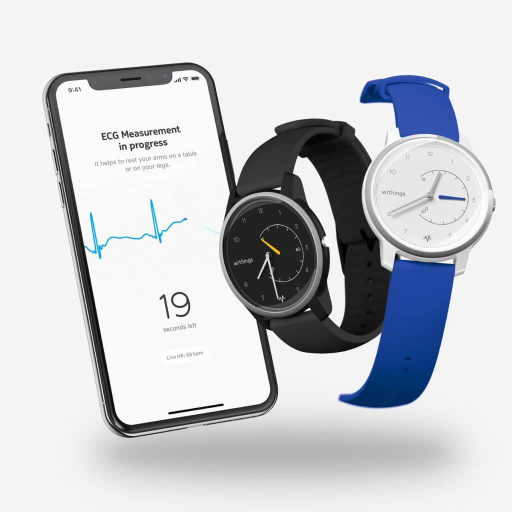 withings reveals it is yet to secure regulatory approval for move ecg - Top hybrid watches 2019, the best of both worlds