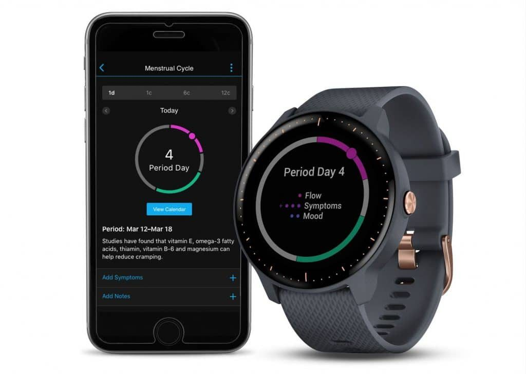 garmin adds female health tracking to its connect app 1024x728 - Garmin adds female health tracking to its Connect app