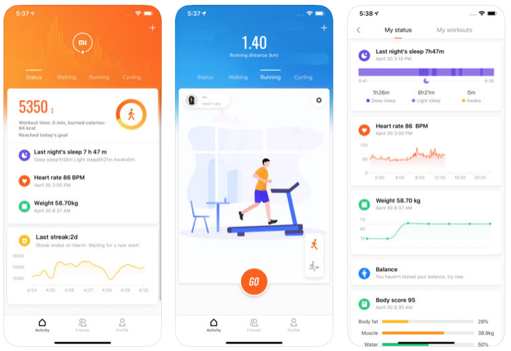 mi fit app gets a huge design overhaul with version 4.0 - Mi Fit app gets a design overhaul with version 4.0.0