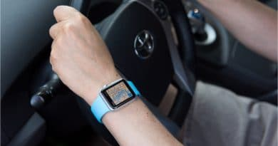 Motorists can be slapped with a fine for using a smartwatch while driving