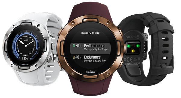 suunto 5 offers long battery life and a host of functions in a compact body - Suunto 5 offers long battery life and a host of functions in a compact body