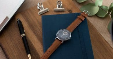 Withings Steel HR Sapphire Signature is built from finest materials for a designer look