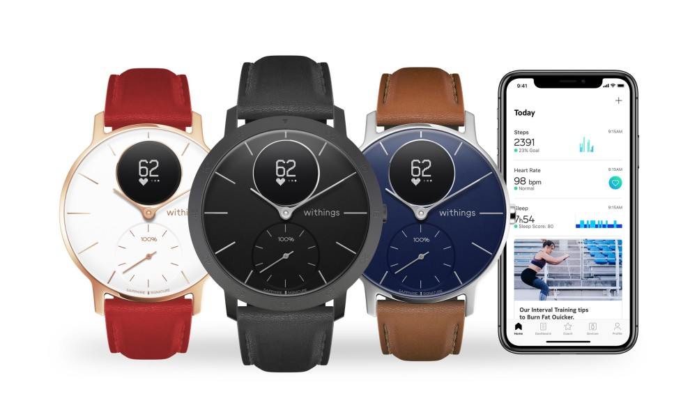 withings steel hr sapphire signature is built from finest materials for a designer look - Withings Sapphire Signature is built from finest materials for a designer look