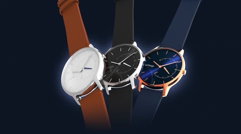withings introduces premium designs for move smart analog watch 4 - Withings introduces premium designs for Move smart analog watch