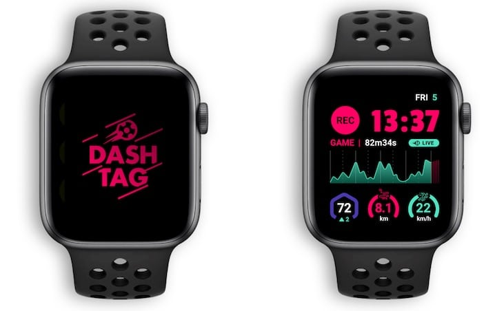 dashtag unveils the first soccer tracking platform for your apple watch 2 - DashTag unveils first soccer tracking platform for your Apple Watch