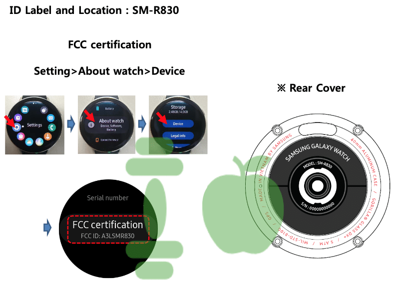 galaxy watch active 2 hits the fcc launch expected in august 1 - Galaxy Watch Active 2 hits the FCC, launch expected in August