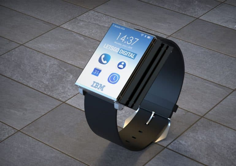 ibm awarded patent for a tablet you can fold into a smartphone smartwatch 1 - IBM awarded patent for a tablet you can fold into a smartphone & smartwatch