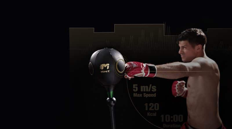 MoveItSpeed: World's 1st Smart Boxing Reflex Bag