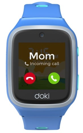 dokiPal is a 4G/LTE kids smartwatch with video calling, location tracking & more