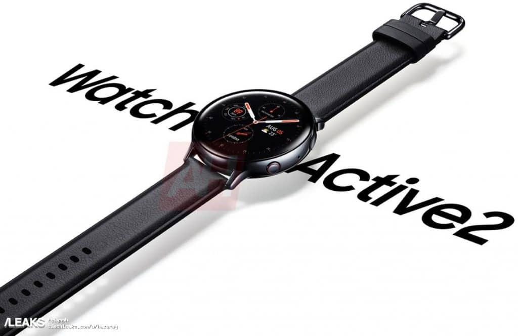samsung galaxy watch active 2 has borrowed a few things from apple 1 1024x664 - Samsung Galaxy Watch Active 2 official render leaked