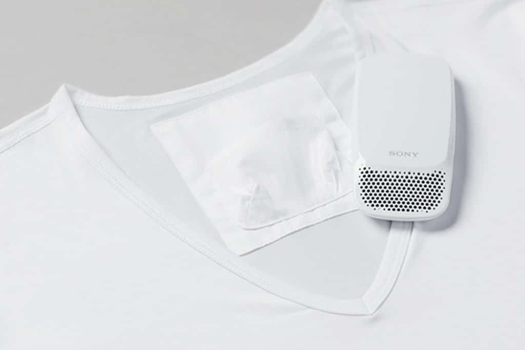 sony has a wearable air conditioner that blows cold air down your neck 5 1024x683 - Sony launches wearable air conditioner that blows cold air down your neck
