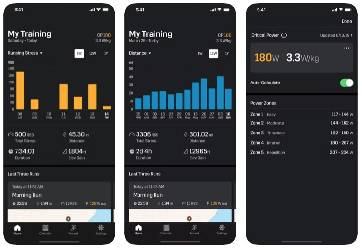 stryd smartphone app gets new look new features improved functionality 2 - Stryd smartphone app gets new look and features, improved functionality