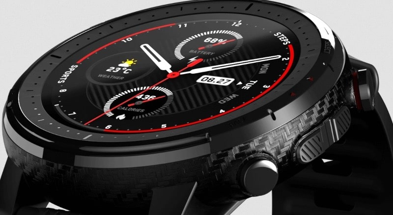 amazfit stratos 3 comes in a standard and titanium option 2 - Amazfit Stratos 3 finally gets an Amazon US listing