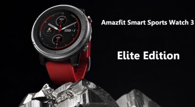 amazfit stratos 3 to come in standard and elite variants more specs revealed 1 - Amazfit Stratos 3 to come in Standard and Elite variants, more specs revealed