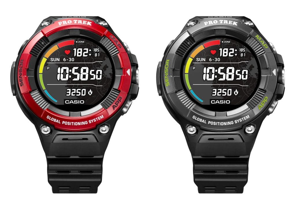 casio releases the first protrek to offer a heart rate sensor 1 1024x705 - Casio releases the first ProTrek to offer a heart rate sensor