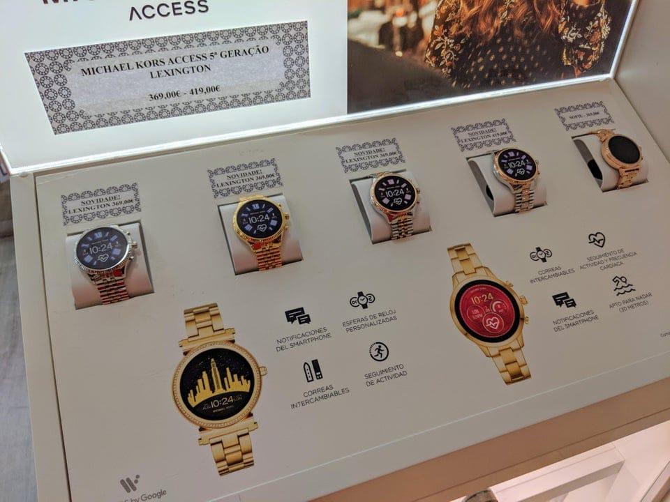 A new Wear OS Michael Kors watch leaks online