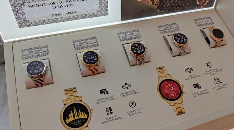 A new Wear OS Michael Kors watch leaks online