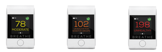 breathesmart portable monitor that makes sure you breathe clean air 1 - Review Breathe|Smart: Portable monitor that makes sure you breathe clean air