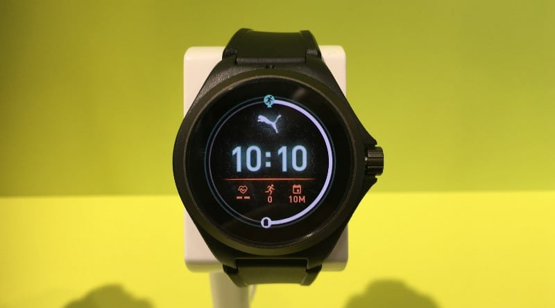 ifa 2019 puma launches its first smartwatch in partnership with fossil 3 - Puma Sport Connected hands-on pictures at IFA 2019