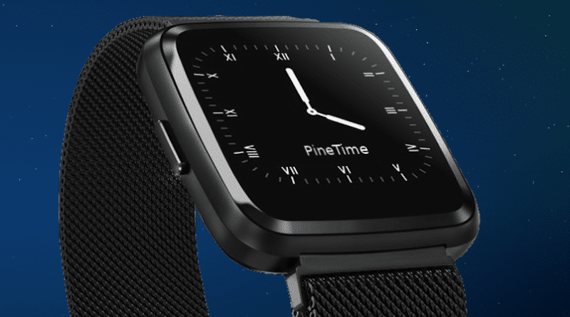 PineTime is an incredibly affordable open source Linux Smartwatch