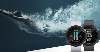 Garmin Swim 2 will measure your heart rate under water