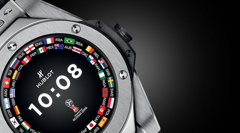 Hublot to release sequel to the Big Bang referee smartwatch