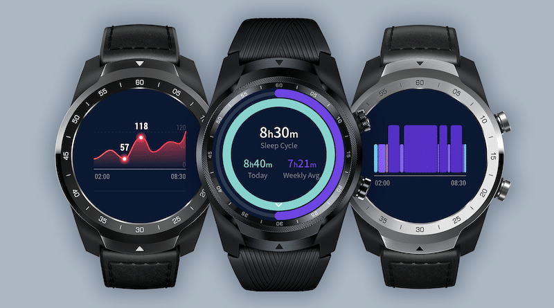 Mobvoi adds sleep tracking to its TicWatch Pro range of watches
