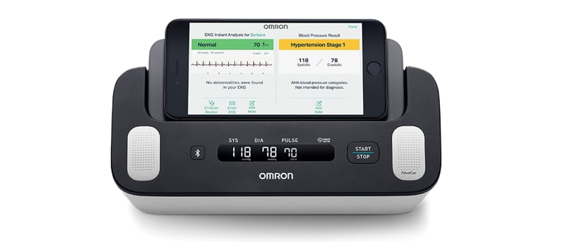 omron refreshes its line of connected blood pressure monitors 1 - Omron refreshes line of connected blood pressure monitors