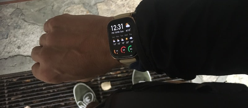 review amazfit gts an apple watch lookalike that comes long battery life 2 - Amazfit GTS review: an Apple Watch lookalike that comes with awesome battery life