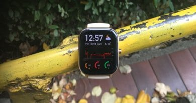 Review Amazfit GTS: an Apple Watch lookalike that comes long battery life