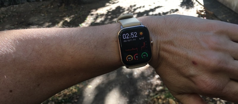 review amazfit gts an apple watch lookalike that comes long battery life 7 - Amazfit GTS review: an Apple Watch lookalike that comes with awesome battery life