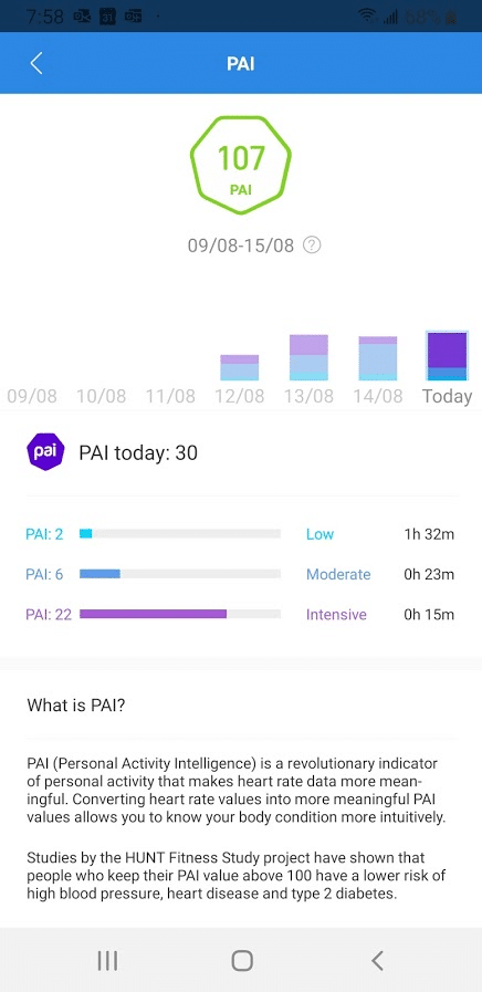 amazfit gts and gtr get pai a heart rate derived indicator of daily activity 1 - Amazfit GTS and GTR get PAI, a heart-rate derived indicator of daily activity