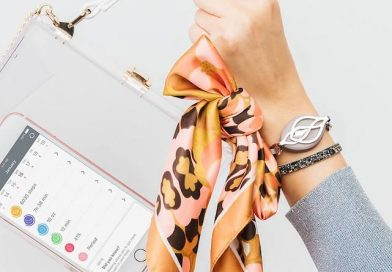 bellabeat s latest leaf tracker is created with swarovski crystals 392x272 - Bellabeat