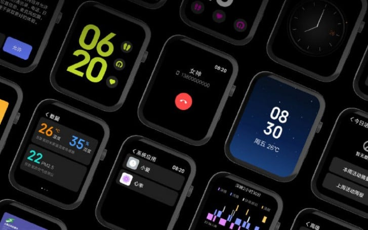 xiaomi makes mi watch and mi watch privilege edition official - Xiaomi makes Mi Watch and Mi Watch Premium Edition official