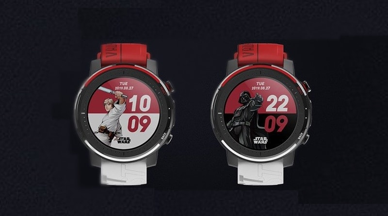 amazfit sports watch 3 star wars edition to go on sale december 19th 1 - Amazfit Sports Watch 3 Star Wars edition goes on sale in China