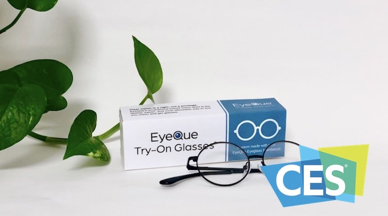CES 2020: EyeQue Try-On Glasses will let you test out your vision test results