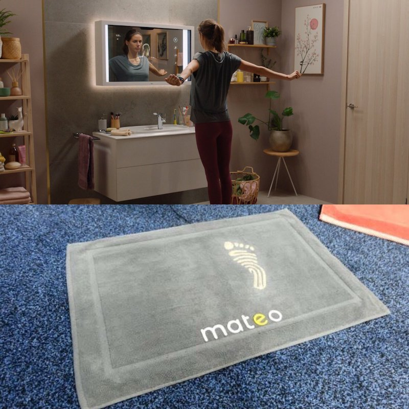 ces 2020 mateo is a smart bathroom mat that tracks your weight posture 1 - CES 2020: Mateo is a smart bathroom mat that tracks your weight & posture