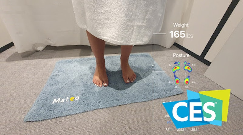 CES 2020: Mateo is a smart bathroom mat that tracks your weight