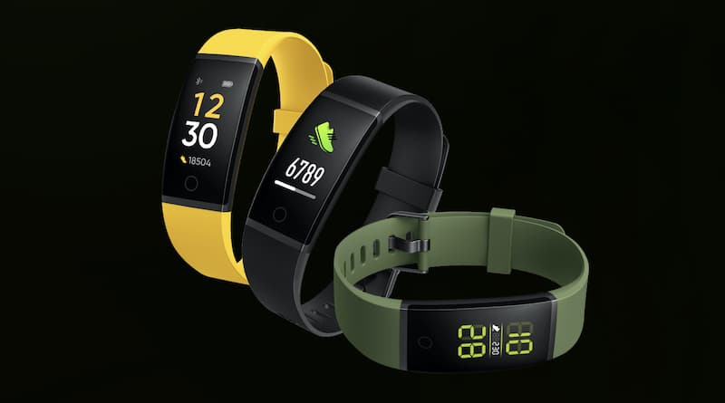 Heart-rate enabled Realme fitness band to launch in February