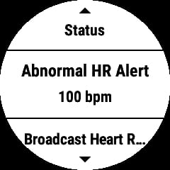 this is how to enable the garmin abnormal heart rate alert 1 - This is how to enable the Garmin abnormal heart rate alert